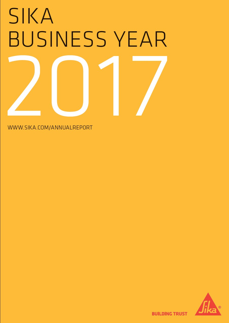 Sika Business Year - Annual Report 2017
