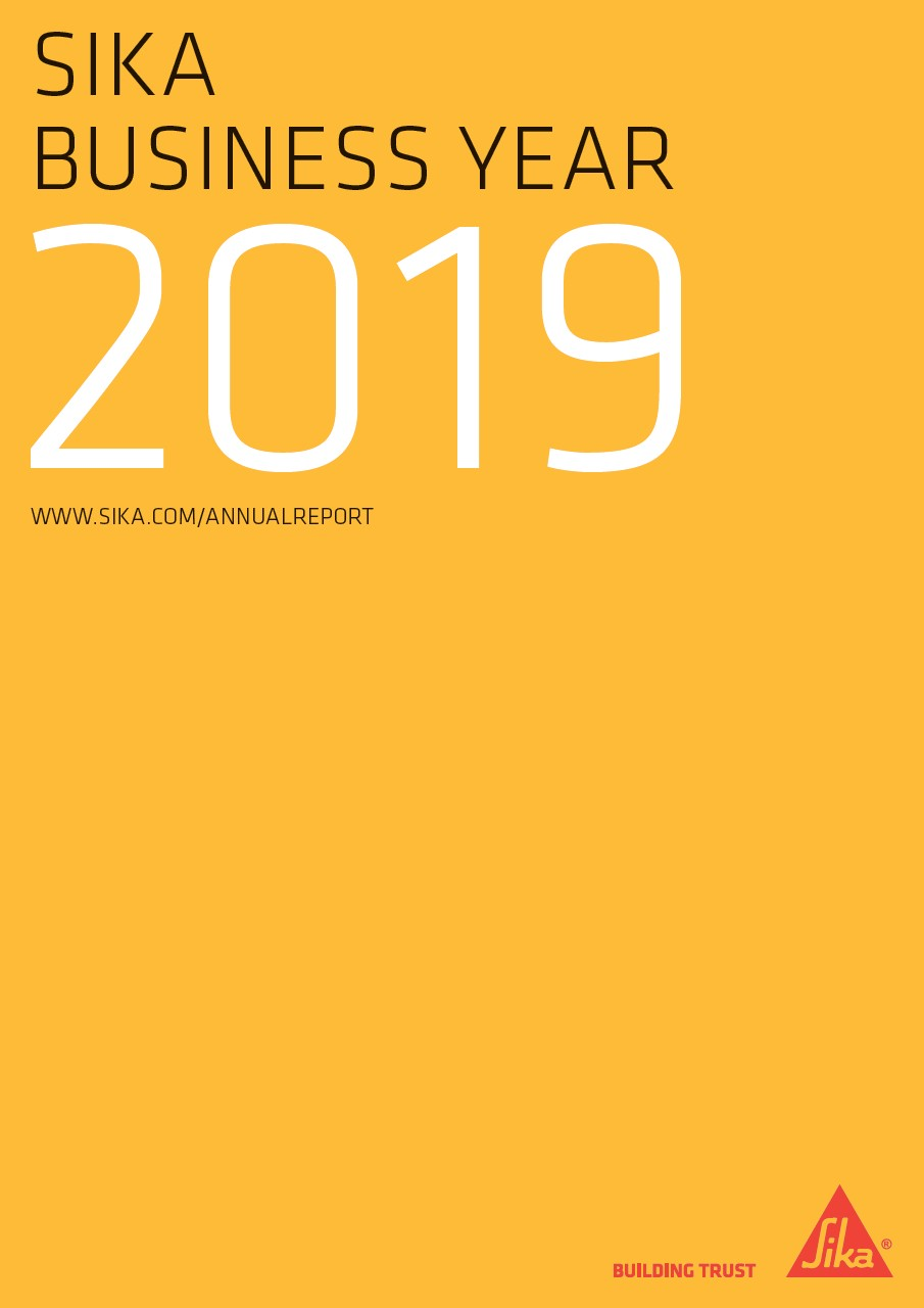 Sika Business Year - Annual Report 2019