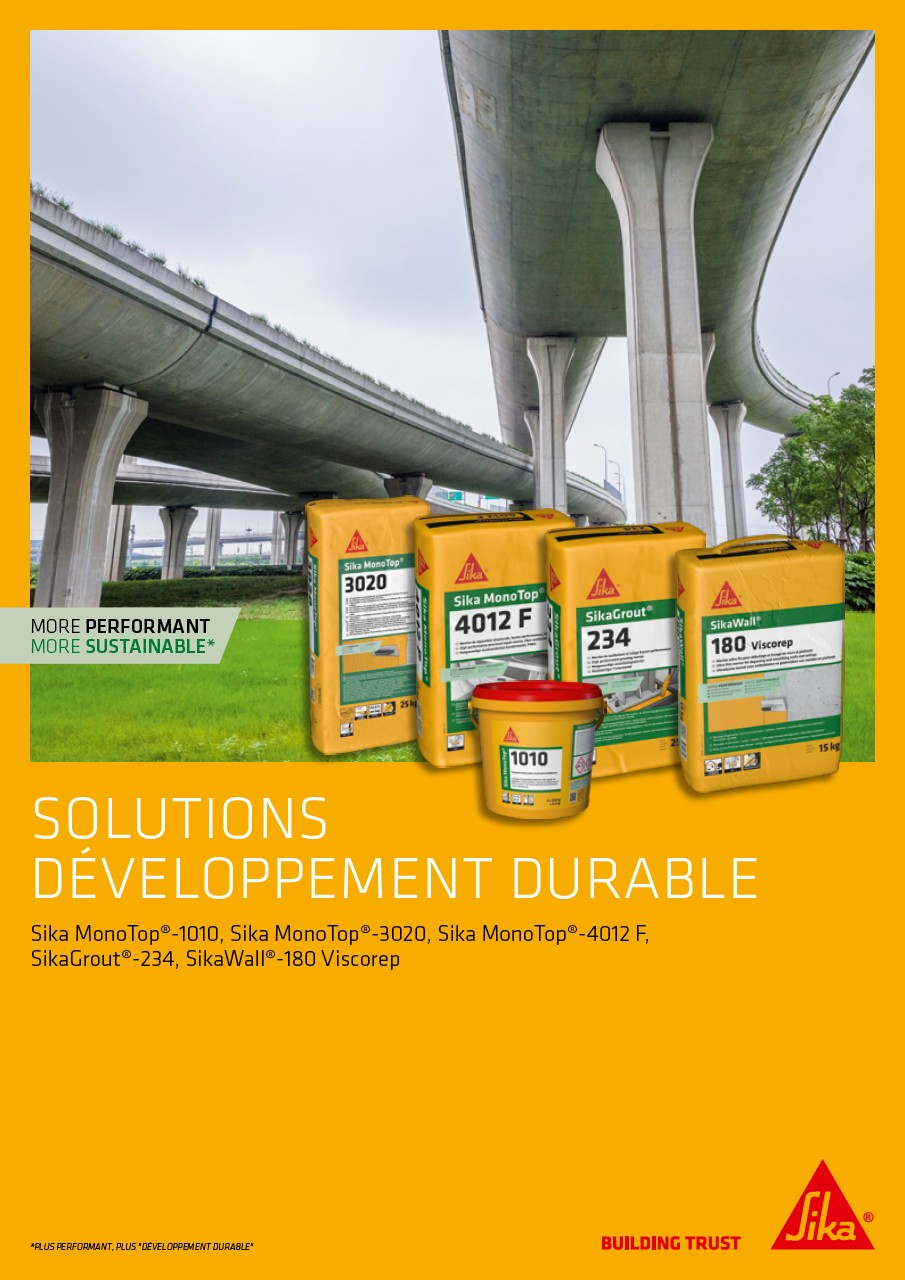 Brochure solutions développement durable